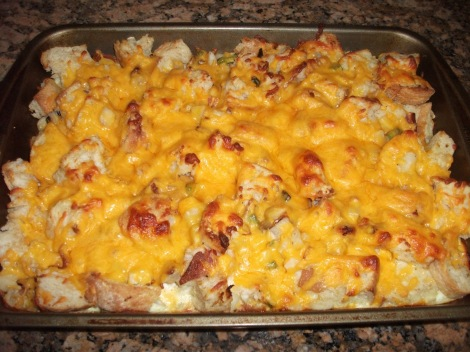 Things to Bring to a Tailgate: Breakfast Casserole