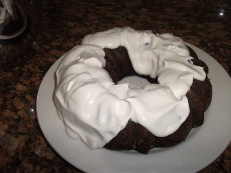 Chocolate Guinness Cake with Bailey's Whipped Cream