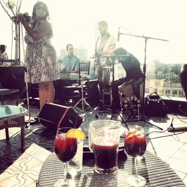 Sangria + Live Music at Perch in Downtown Los Angeles